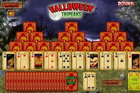 halloween tripeaks solitaire game solitaire games games loon