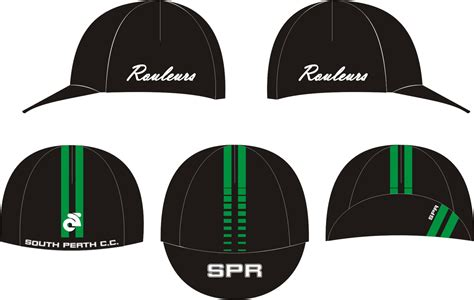 design hat cover spr team kit chion systems south perth rouleurs