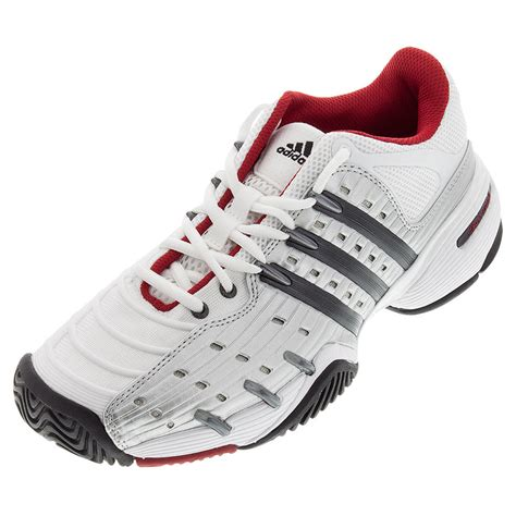adidas s barricade v classic tennis shoes white and