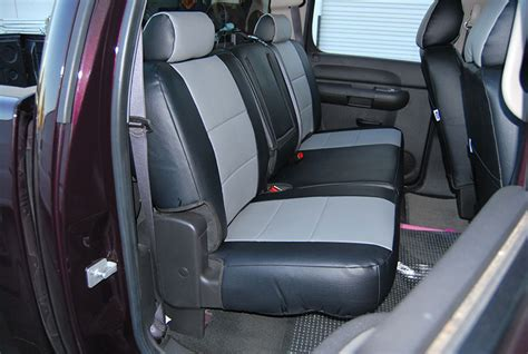 silverado seat covers leather chevrolet silverado leather seat cover ebay html autos post