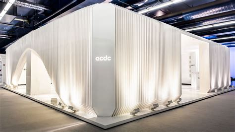 booth design lighting acdc exhibition stands instalation lighting where