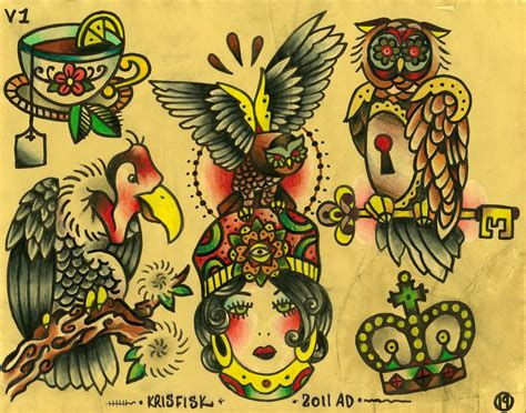 tattoo genres traditional styles pins needles