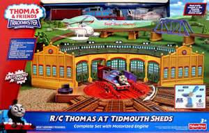 Trackmaster Tidmouth Sheds Playset by And Friends Trackmaster Tidmouth Sheds Car