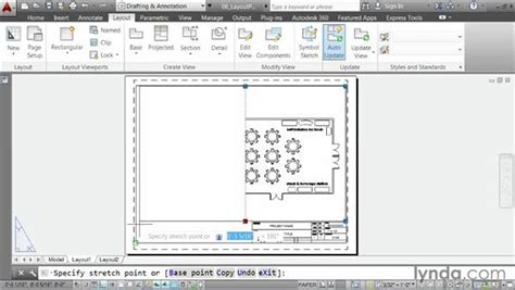 layout autocad viewport creating a layout part three cutting viewports