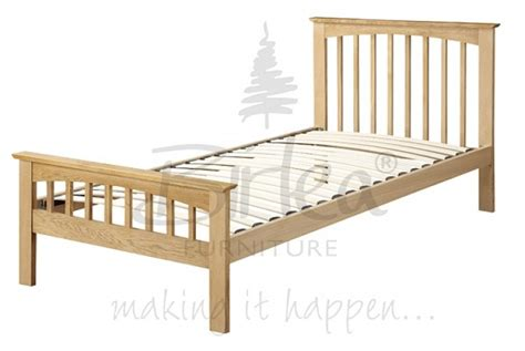 Single Oak Bed Frame with Birlea Saunton 3ft Single Solid Oak Bed Frame By Birlea
