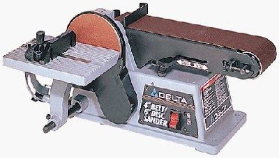 delta bench sander the master woodbutcher s delta 31 460 belt disc sander