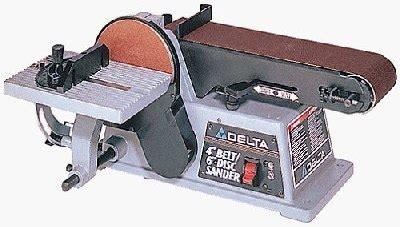bench top belt sanders the master woodbutcher s delta 31 460 belt disc sander picture page