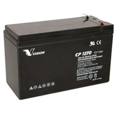 Baterai Accu Vrla Agm Panasonic 12v 7 2ah Lcv127r2na Untuk Ups osi batteries vision 12v battery replacement for lc r127r2p