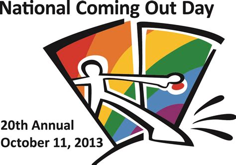 Coming Out Day - e town now coming out the process talk to