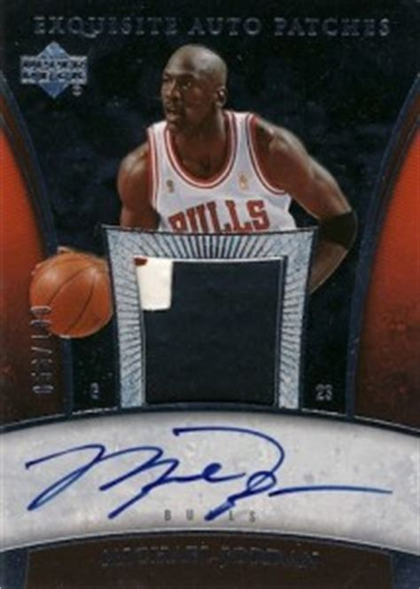 Mj Ud 2005 06 Michael Exquisite Collection Basketball Guide