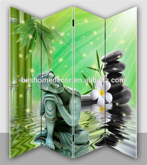 buddha room divider screen lowest price buddha canvas screen 3d canvas painting room divider buy canvas screen canvas