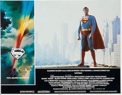 Sf Cinema Gift Card - 100 years of cinema lobby cards superman the movie 1978