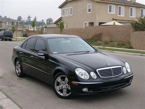 2004 Mercedes E500 by E500 For Sale Black Black 2004 Mint Condition Mbworld