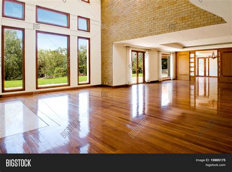 bid room empty big living room image photo bigstock