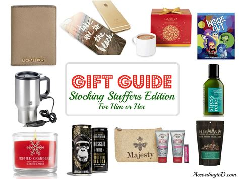 stocking stuffers gift guide unisex gifts for him or her