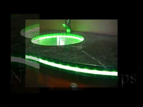 """""""NightLight Tops"""" Countertops by Crafted Countertops"""