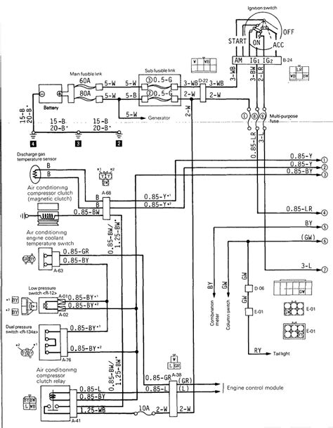 diagram of mitsubishi air conditioner wiring diagram