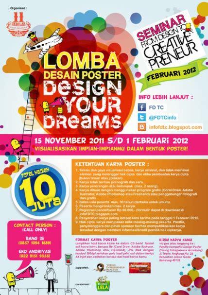 contoh desain layout buletin dicoba 30 contoh desain poster promosi keren unik