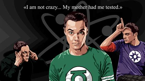 big bang theory fan gear big bang theory sheldon cooper quote i m not crazy by