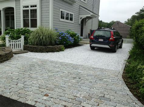 White Rock Driveway Permeable Paving In Ma Path Landscaping