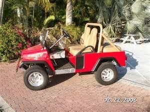 Jeep Golf Cart Jeep Golf Cart Seats Four