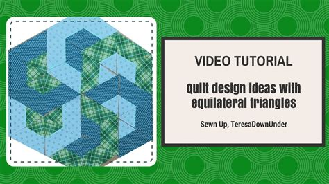 video tutorial quilting video tutorial quilt design ideas with equilateral