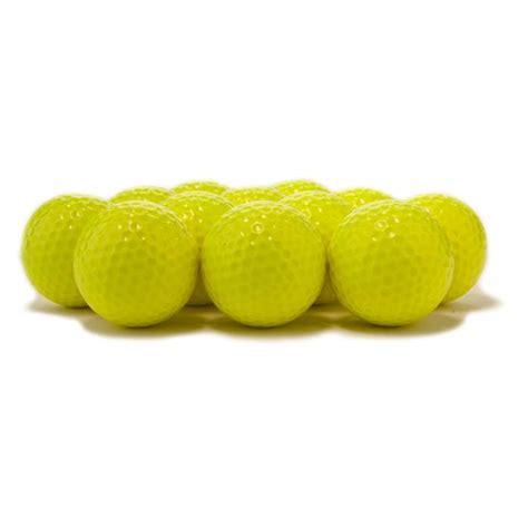 colored golf balls blank colored golf balls yellow golfballs