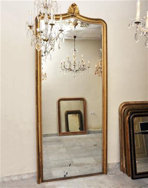 Antike Chifferobe Mit Spiegel by Sehr Gro 223 E Goldene Spiegel Antike Niederl 228 Ndisch 275 Cm