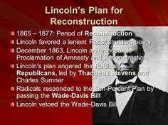 abraham lincoln or south this is a picture of a political of lincoln s plan