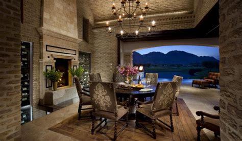 magnificent mediterranean dining room designs