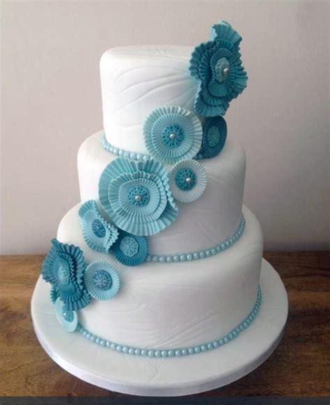 Blue Flower Wedding Cake by The Best Sugar Flower Wedding Cakes Exquisite Floral