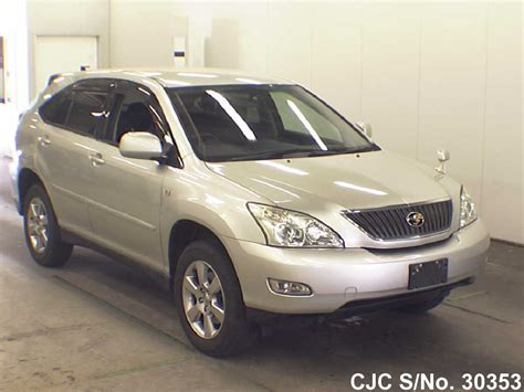 toyota harrier 2005 2005 toyota harrier silver for sale stock no 30353