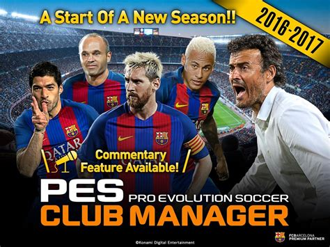 pes club manager android apps on play