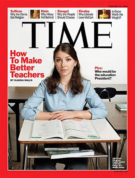 how to give better time magazine cover how to make better teachers feb 25