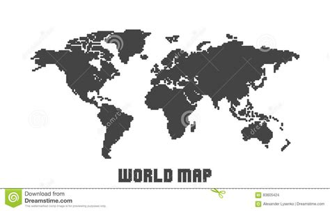 flat world map vector black and white world map flat vector pictures to pin on