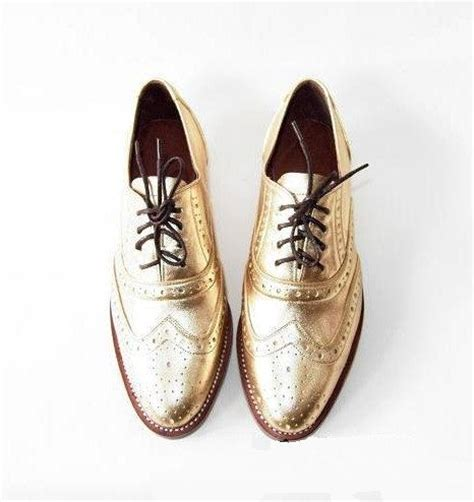 unique oxford shoes unique leather and gold on
