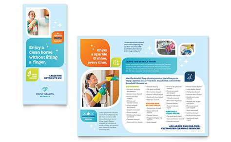 one page brochure templates creative templat