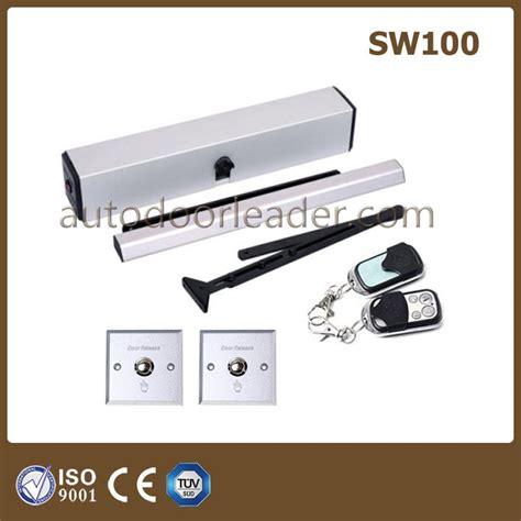 swing door mechanism 2017 110v 220v automatic swing door mechanism remote