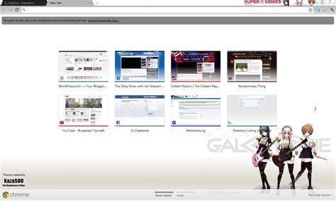 chrome theme creator image size google chrome theme supersoniko girl randomness thing