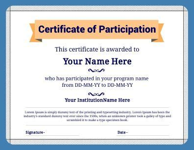 design your own certificate templates 18 best images about certificate templates on