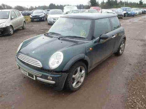 manual cars for sale 2002 mini cooper on board diagnostic system mini 2002 cooper green manual damaged salvage repairable parts car for sale