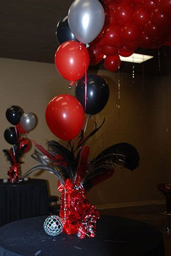 sweet  balloon centerpieces google search projects