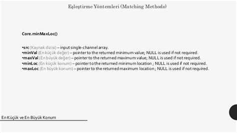 opencv template matching opencv nesne tespiti template matching y 246 ntemi