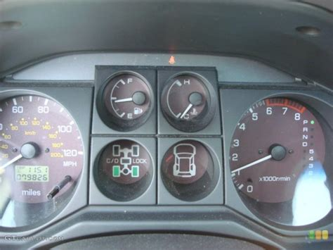 how cars engines work 2005 mitsubishi montero instrument cluster 2005 montero limited 2wd 4wd light problem mitsubishi forum mitsubishi enthusiast forums