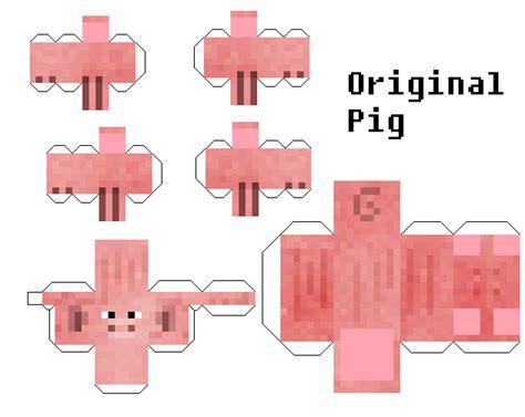 How To Make Paper Pig - papercraft original pig