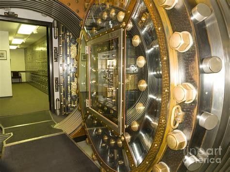 Interior Vault by Bank Vault Interior Photograph By Adam Crowley