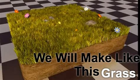 blender tutorial grass basic tutorial about rendering grass for architecture with