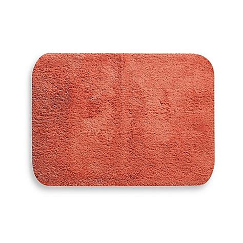 Coral Bathroom Rug Buy Wamsutta 174 Soft 24 Inch X 40 Inch Bath Rug In Coral From Bed Bath Beyond