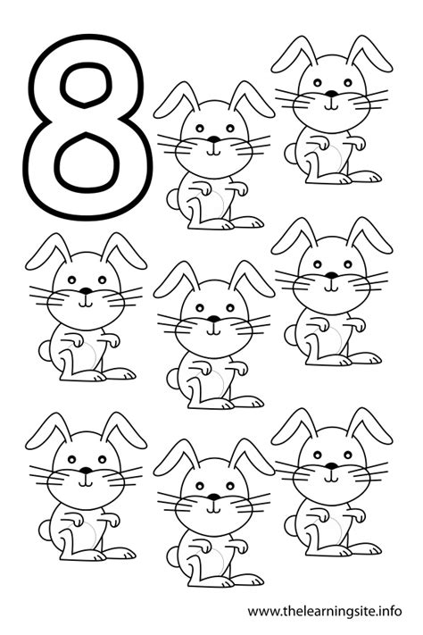 Free Coloring Pages Of Number Eight Number 8 Coloring Pages