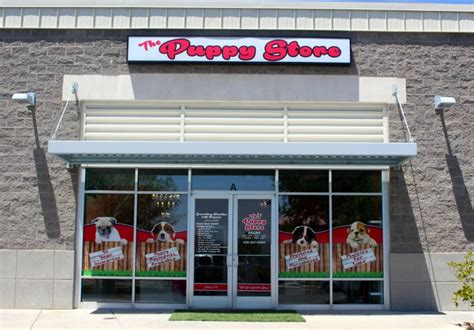 the puppy store st george pet store ribbon cutting in washington triggers protest from animal rights